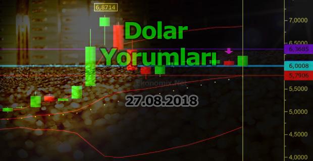 Dolar Yorumları 27.08.2018