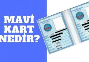 Mavi Kart Nedir?