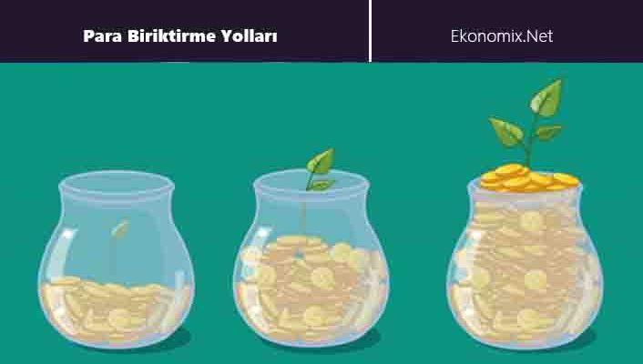 etkili para biriktirme yolları