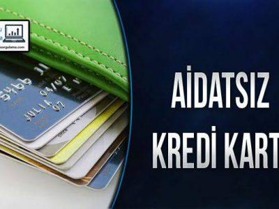 Aidatsız Kredi Kartı Veren Bankalar hangileri