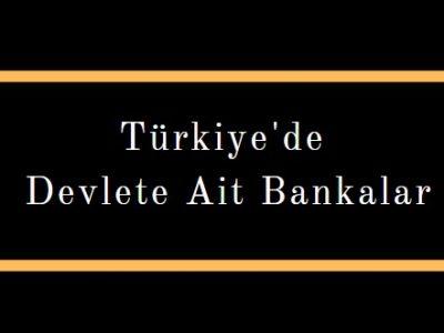 devlete ait bankalar